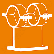 Крепление тяжелых труб MÜPRO