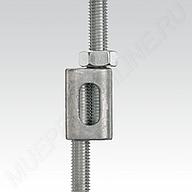 Параллельный соединитель MÜPRO для шпилек или резьбовых штифтов
