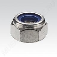 Шестигранная гайка MÜPRO самоконтрящееся пластмассовое кольцо, DIN 985